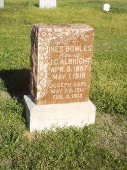 Joseph Earl Albright