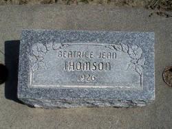 Beatrice Jean Thomson