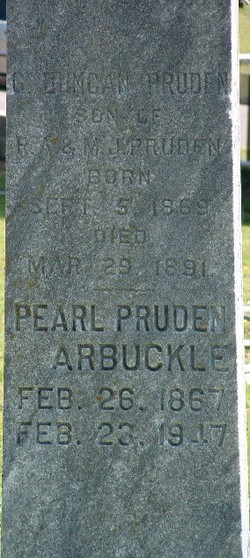 Pearl B <i>Pruden</i> Arbuckle