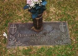 Henrietta C. Aaron