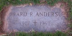 Edward R Anderson