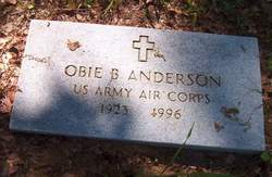 Obie B Anderson