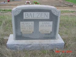 Anna <i>Schuehle</i> Balzen