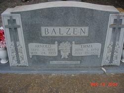 Emma Justine <i>Boehle</i> Balzen