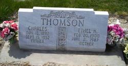 Ethel Eliza <i>Hobbs</i> Thomson