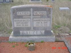 Anna Margaretha <i>Oefinger</i> Balzen