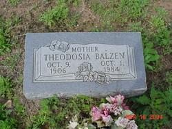 Theodosia <i>Pierce</i> Balzen