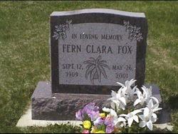 Fern Clara <i>Duncan</i> Fox