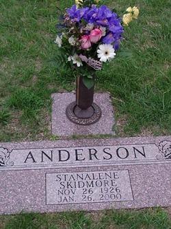 Stanalene Gay Stannie <i>Skidmore</i> Anderson