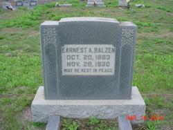 Earnest August Balzen
