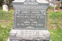 Pvt Samuel Booth