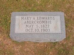 Mary A <i>Edwards</i> Abercrombie