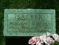 Wilhelmina Caroline <i>Schmoldt</i> Sacker