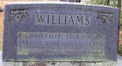 Ella <i>Jordan</i> Williams