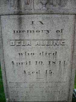 Bela Alling