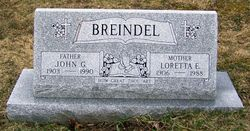 Loretta E <i>Fritz</i> Breindel