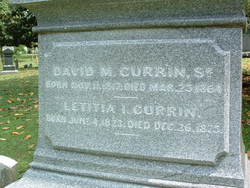 David Maney Currin, Sr