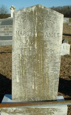 Margaret Ann <i>Collison</i> Anstett