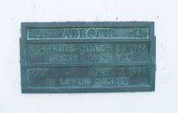 Gertrude Abbott