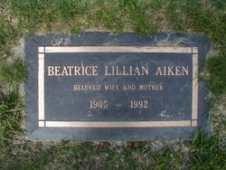 Beatrice Lillian Aiken