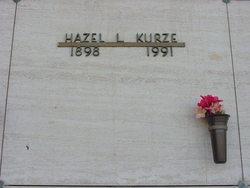 Hazel Lillian <i>Haworth</i> Kurze