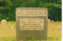 Sarah D <i>White</i> Holdshouser