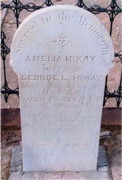 Amelia <i>Young</i> McKay