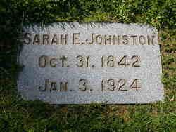 Sarah Elizabeth Sallie <i>Pearis</i> Johnston