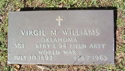 Virgil M Williams
