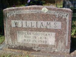 Ida Beulah <i>Goodgame</i> Williams
