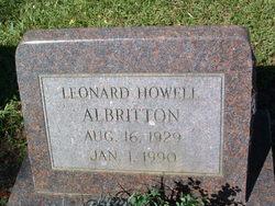Leonard Howell Albritton