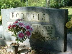 Mae <i>Albritton</i> Roberts