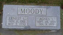 Agnes Lucille <i>Riis</i> Moody