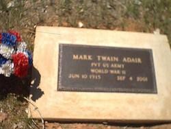Mark Twain Adair