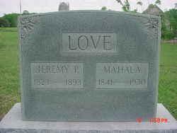 Mahala <i>Rollins</i> Love