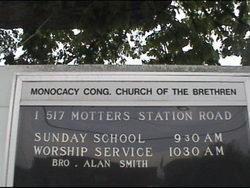 Monocacy Congregation Church Of The Brethren Cemet