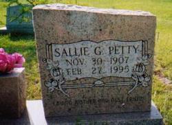 Sallie Ellen <i>Green</i> Buchanan Petty