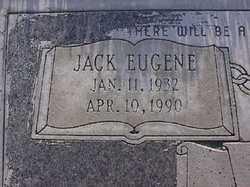 Jack Eugene Webb