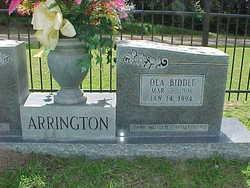 Ola <i>Biddle</i> Arrington