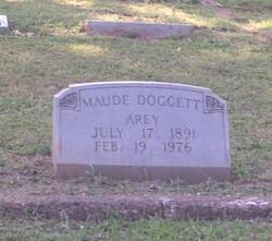 Maude <i>Doggett</i> Arey