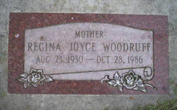 Regina Joyce <i>Rushton</i> Woodruff