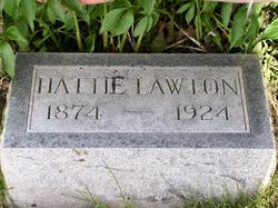 Harriet Louise Hattie <i>Humphrey</i> Lawton