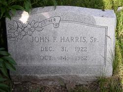 John F Harris, Sr