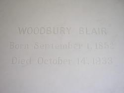 Woodbury Blair