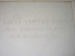 Laura <i>Lawson</i> Blair