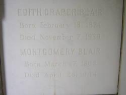 Edith M <i>Draper</i> Blair