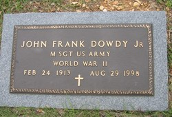 John Frank Dowdy, Jr
