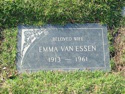 Emma <i>Houtsma</i> Van Essen
