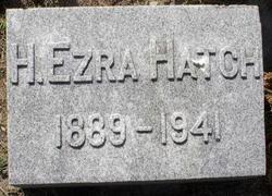 H Ezra Hatch