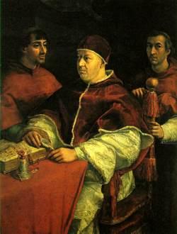 Pope Leo, X